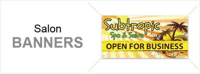 Image: Salon banners