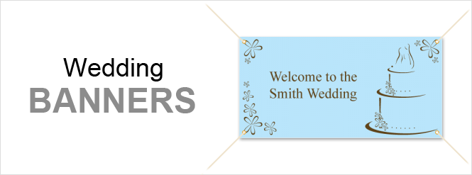 Image: Wedding banners
