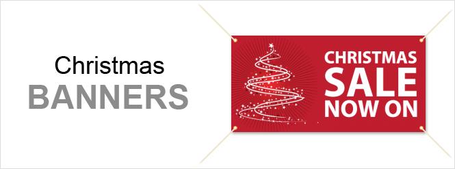 Image: Christmas banners