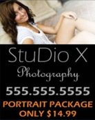 Image: Studio Pole Banner Template