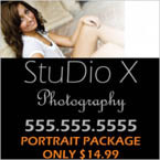 Photography Studio Window Decal