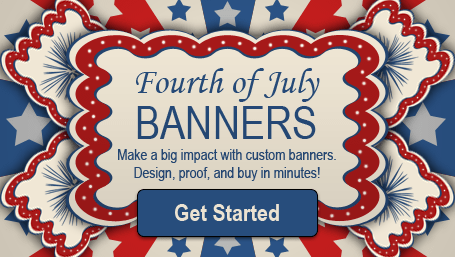 Image: Hot deals on Fourth of July Banners