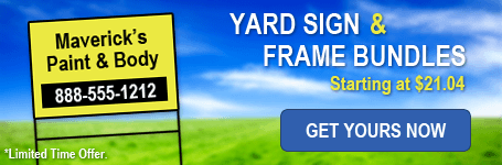 Image: Hot deals on Yard Sign Kits