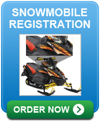 Snowmobile Registration Letters
