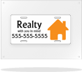Image: Real Estate License Plates