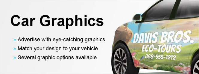 Image: Car graphics make your vehicle noticeable!