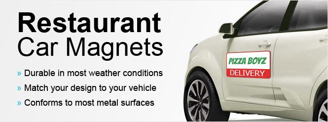 Image: Restaurant Car Magnets!