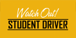 Image: Student Driver Car Magnet