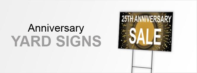 Image: Anniversary Yard Signs!