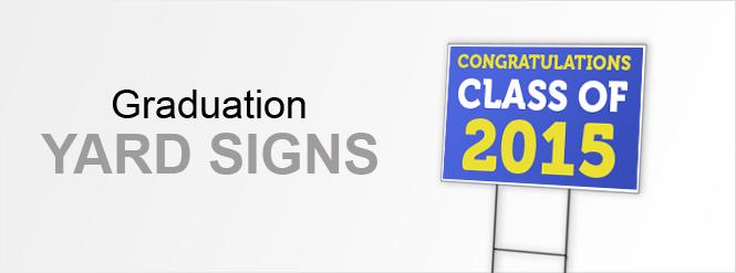 Image: Graduation Yard Signs!
