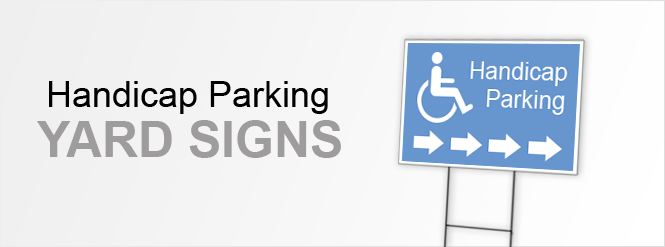 Image: Handicap Parking Signs!
