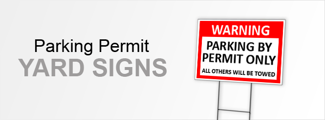 Image: Parking Permit Signs!