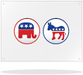 Image: Political Yard Signs