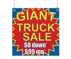 Image: Truck Sale Window Sign