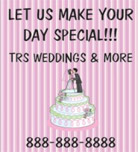 Image: Cake Decorator Hanging Banner Template