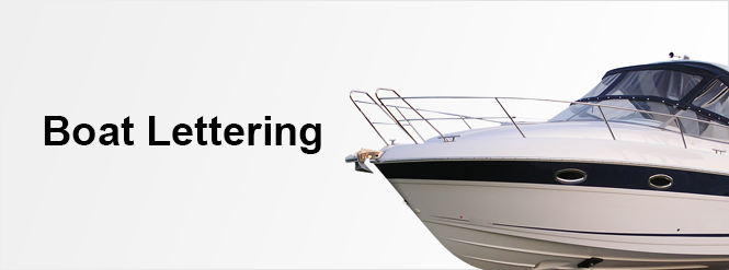 Create Your Own Custom Boat Lettering At Speedysigns Com