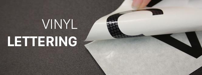 Image custom vinyl lettering