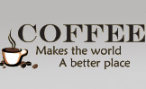 Image: Gourmet Coffee Wall Lettering