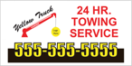 Image: Towing Service Window Decal