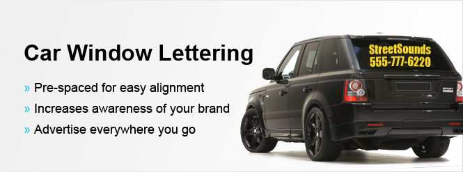 Lettering For Your Car