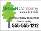 Image: Lawn Service Template