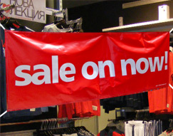 Image: Shop for banners